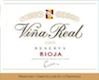 Cune Rioja Viña Real Reserva - label