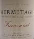 JL Chave Sélection Hermitage Farconnet - label
