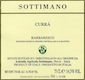 Sottimano Barbaresco Curra - label