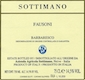 Sottimano Barbaresco Fausoni - label