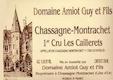 Domaine Guy Amiot et Fils Chassagne-Montrachet Premier Cru Les Caillerets - label