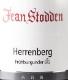 Jean Stodden Recher Herrenberg Spätburgunder Grosses Gewächs - label