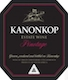 Kanonkop Wine Estate Black Label Pinotage - label