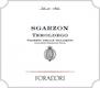 Elisabetta Foradori Sgarzon Teroldego - label