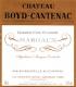 Château Boyd-Cantenac  Troisième Cru - label