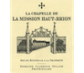 Château La Mission Haut-Brion La Chapelle de La Mission Haut-Brion - label