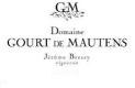 Domaine Gourt de Mautens Rasteau Rosé - label