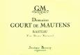 Domaine Gourt de Mautens Rasteau Vin Doux Naturel - label