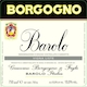 Giacomo Borgogno e Figli Barolo Liste - label
