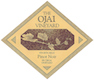The Ojai Vineyard Fe Ciega Pinot Noir - label