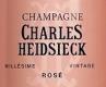 Charles Heidsieck Rosé Millésimé - label