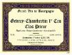 Domaine Pierre Gelin Gevrey-Chambertin Premier Cru Clos Prieur - label