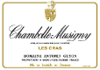 Domaine Antonin Guyon Chambolle-Musigny Les Cras - label