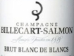 Billecart-Salmon Blanc de Blancs Millésimé - label
