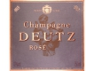 Deutz Rosé Millésimé - label