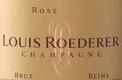 Louis Roederer Brut Rosé Millésimé - label
