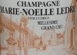 Marie Noëlle Ledru Brut Millésimé Grand Cru - label