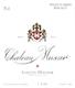 Château Musar  - label