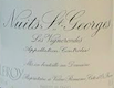 Domaine Leroy Clos de la Roche Grand Cru  - label