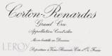 Domaine Leroy Corton Grand Cru Les Renardes - label