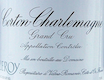 Domaine Leroy Corton-Charlemagne Grand Cru  - label