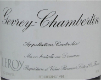 Domaine Leroy Gevrey-Chambertin  - label