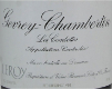 Domaine Leroy Gevrey-Chambertin Premier Cru Les Combottes - label
