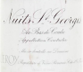 Domaine Leroy Nuits-Saint-Georges Au Bas de Combe - label