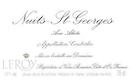 Domaine Leroy Nuits-Saint-Georges Aux Allots - label