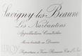 Domaine Leroy Savigny-lès-Beaune Premier Cru Les Narbantons - label