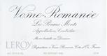 Domaine Leroy Vosne-Romanée Premier Cru Les Beaux Monts - label