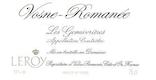 Domaine Leroy Vosne-Romanée Les Genaivrières - label