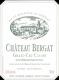 Château Bergat  Grand Cru Classé - label