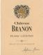 Château Branon  - label
