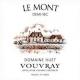 Domaine Huet Le Mont Demi-Sec - label