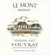 Domaine Huet Le Mont Moelleux - label