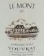 Domaine Huet Clos du Bourg Sec - label