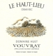Domaine Huet Le Haut-Lieu Demi-Sec - label