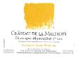 Château de la Maltroye Chassagne-Montrachet Premier Cru Morgeot Vigne Blanche - label