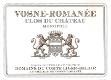 Domaine du Comte Liger-Belair Vosne-Romanée Clos du Château Monopole - label