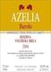 Azelia Barolo Bricco Voghera (Brea) Riserva - label