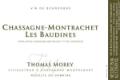 Domaine Thomas Morey Chassagne-Montrachet Premier Cru Les Baudines - label