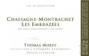 Domaine Thomas Morey Chassagne-Montrachet Premier Cru Les Embrazées - label