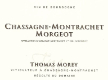 Domaine Thomas Morey Chassagne-Montrachet Premier Cru Morgeot - label