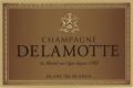 Delamotte Blanc de Blancs Millésimé Grand Cru - label