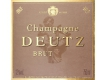 Deutz Brut Millésimé - label