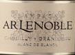 A. R. Lenoble Blanc de Blancs Vintage Grand Cru - label