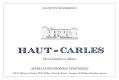 Haut-Carles  - label