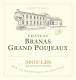 Château Branas Grand Poujeaux  - label