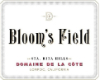 Domaine de la Côte Bloom's Field - label